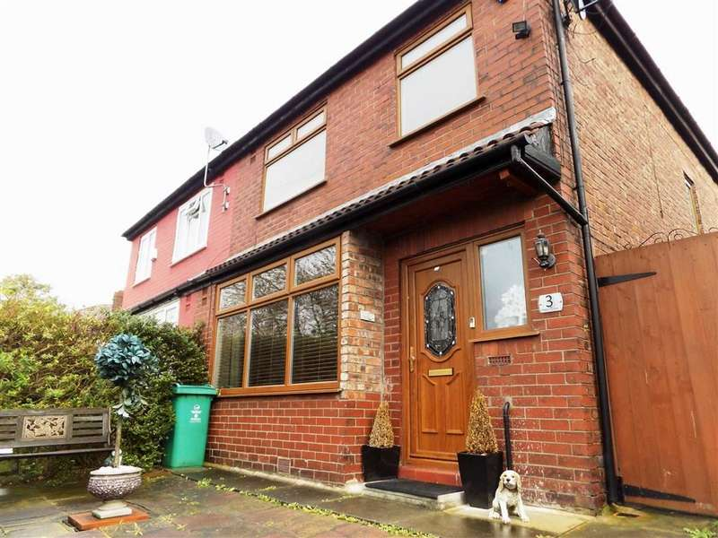 3 Bedrooms Semi Detached House for sale in Albert Grove, Manchester