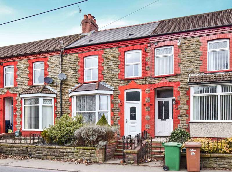3 Bedrooms Terraced House for sale in Thomas Street, Abertridwr, Caerphilly, CF83