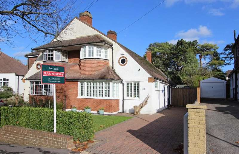 3 Bedrooms Semi Detached House for sale in Greenhayes Avenue, Banstead