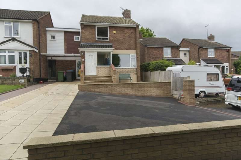 3 Bedrooms Link Detached House for sale in Barnfield Court, Telford, Shropshire, TF1