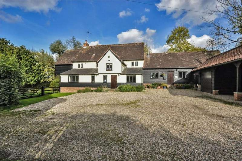 5 Bedrooms Barn Conversion Character Property for sale in The Barn, Boyton End, Thaxted, Nr Great Dunmow