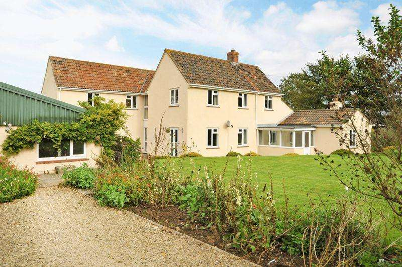 4 Bedrooms Detached House for sale in Horsleigh House, Barton Road, Winscombe, North Somerset, BS25 1DP