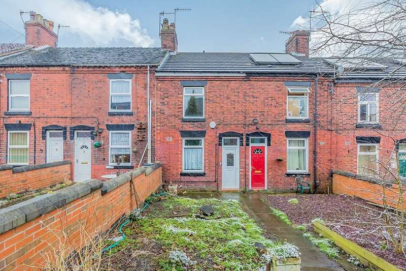 2 Bedrooms Terraced House for sale in William Terrace, Stoke-On-Trent, ST6
