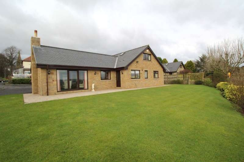 4 Bedrooms Detached Bungalow for sale in Higham Hall Road, Higham, BURNLEY, BB12