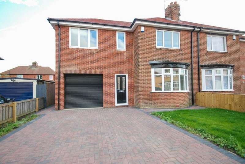 3 Bedrooms Semi Detached House for sale in Newburn Avenue, Fulwell