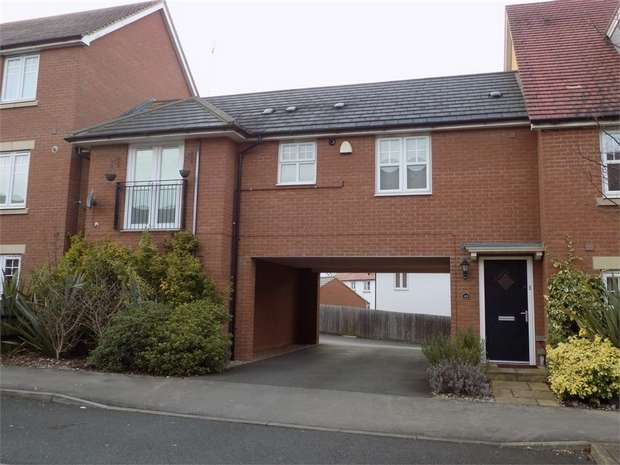 2 Bedrooms Flat for sale in St Helena Avenue, Newton Leys, Bletchley, Milton Keynes, Buckinghamshire