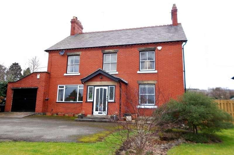 4 Bedrooms Detached House for sale in Llangollen Road, Trevor, Llangollen, LL20