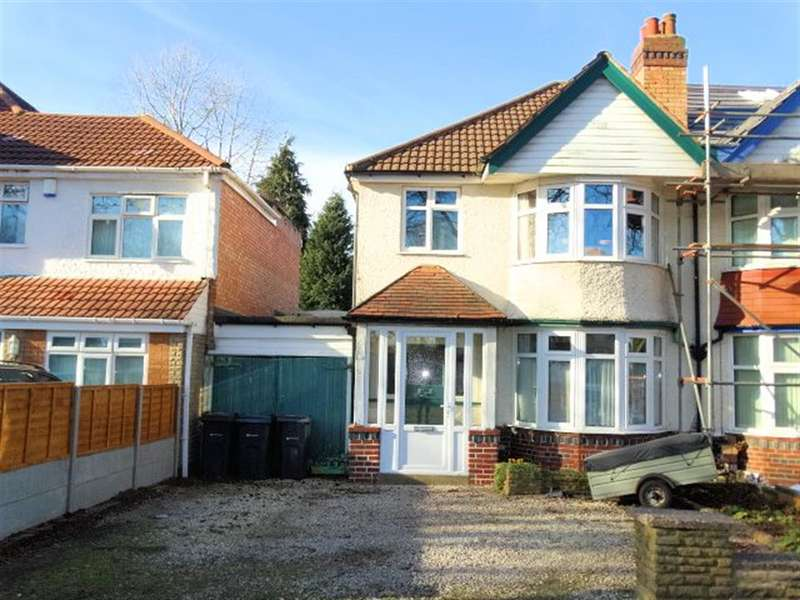 3 Bedrooms Semi Detached House for sale in Littleover Avenue, Birmingham, B28 9HR