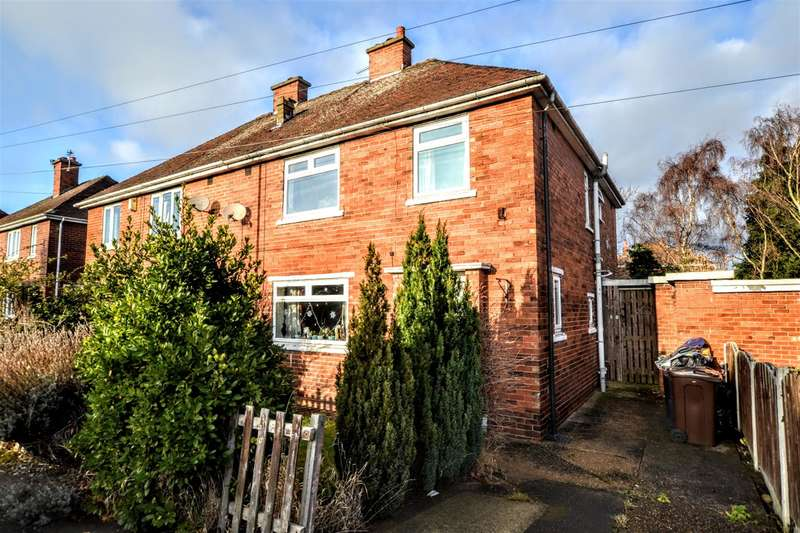 4 Bedrooms Semi Detached House for sale in Kirk Cross Crescent, Royston, Barnsley, S71 4PA