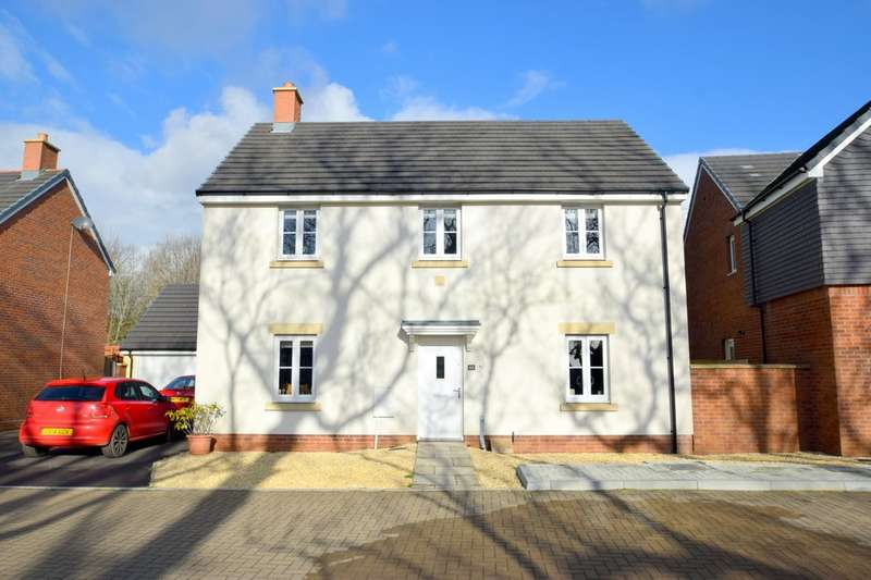 4 Bedrooms Detached House for sale in 60 Maes Y Cadno, Coity, Bridgend, Bridgend County Borough, CF35 6DF.