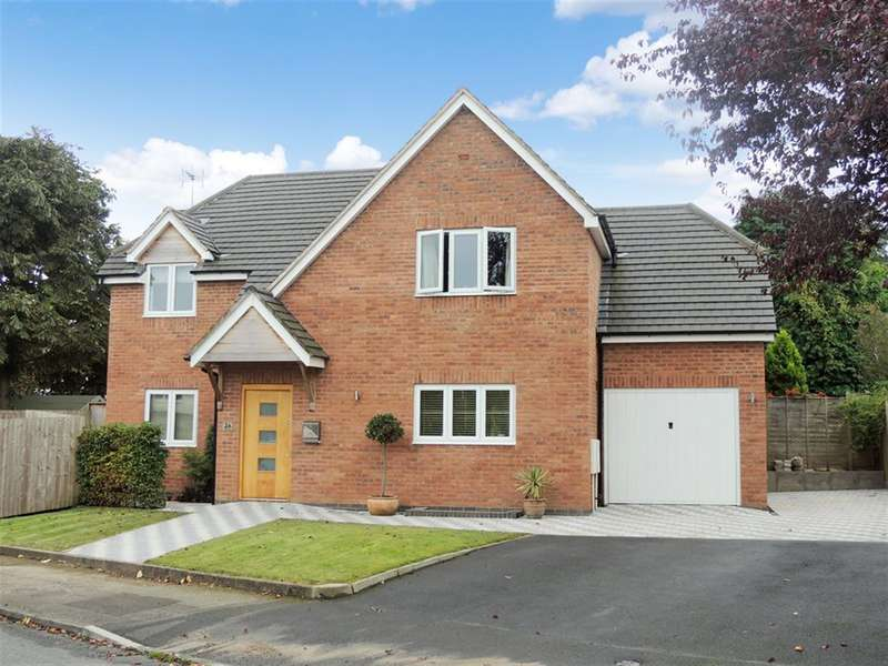 3 Bedrooms Detached House for sale in Meadow Drive, Hampton-In-Arden, Solihull