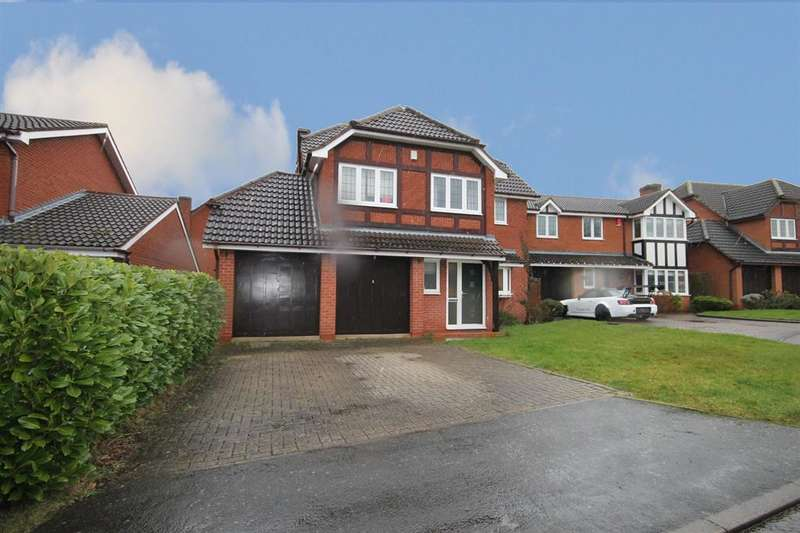 4 Bedrooms Detached House for sale in Moat Drive, Drayton Bassett, Tamworth, B78 3UG