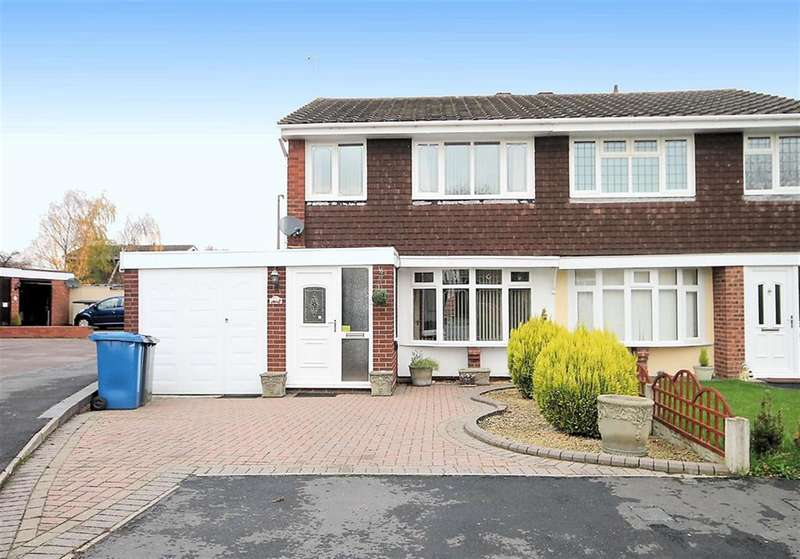 3 Bedrooms Semi Detached House for sale in Marlin, Dosthill, Tamworth B77 1LW