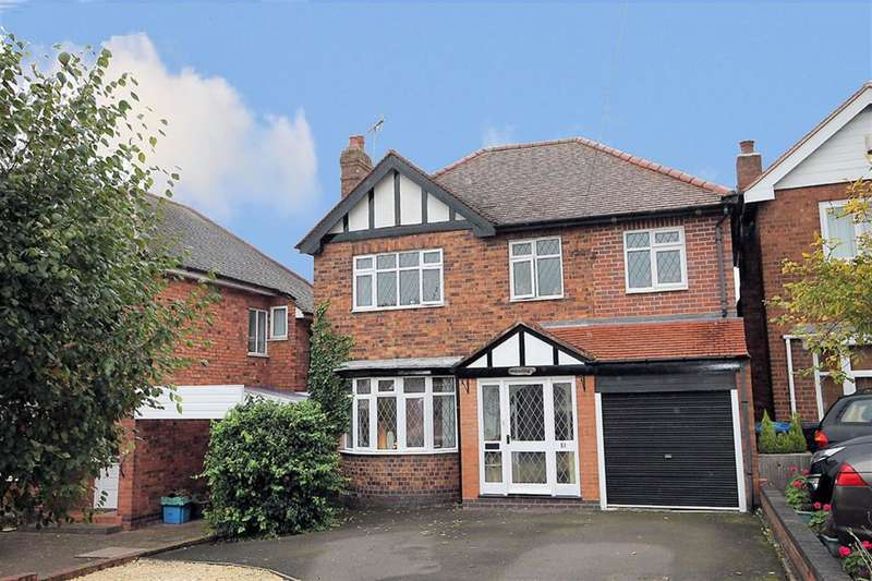 4 Bedrooms Detached House for sale in Salters Lane, Tamworth, B79 8BH