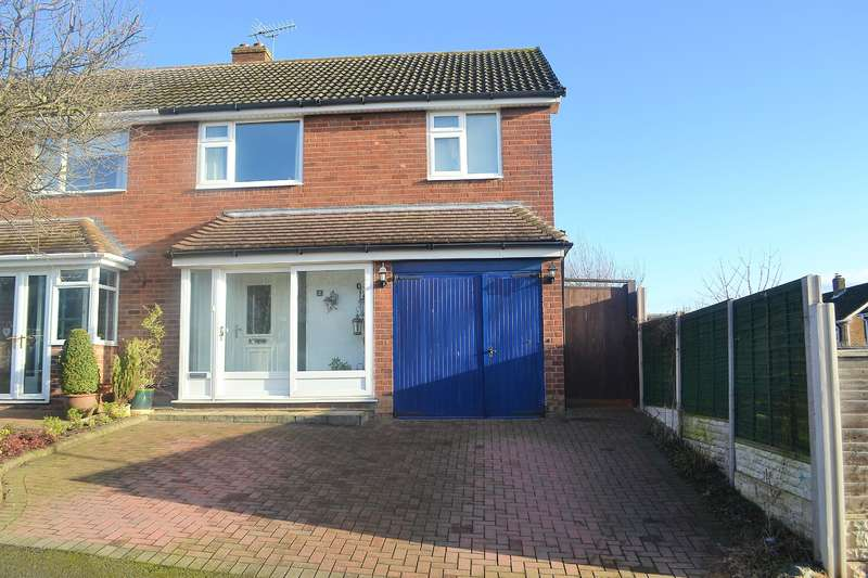 3 Bedrooms Semi Detached House for sale in Garrick Road, Lichfield