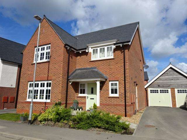 4 Bedrooms Detached House for sale in LON Y WYDDFA, BANGOR LL57