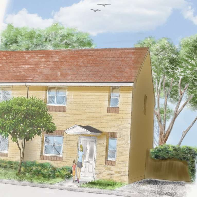 3 Bedrooms Semi Detached House for sale in Clos Coed Derw, Penygroes, Llanelli