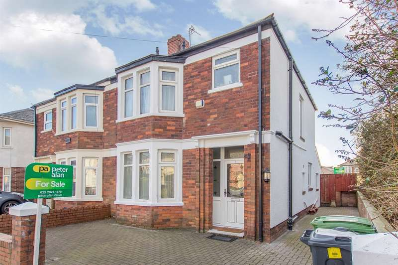3 Bedrooms Semi Detached House for sale in Lon Y Groes, Heath, Cardiff
