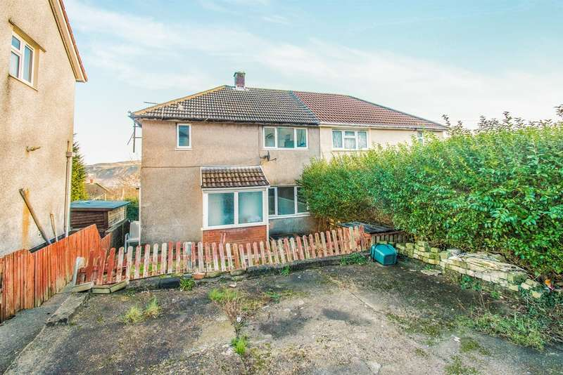 3 Bedrooms Semi Detached House for sale in Garth Avenue, Glyncoch, Pontypridd