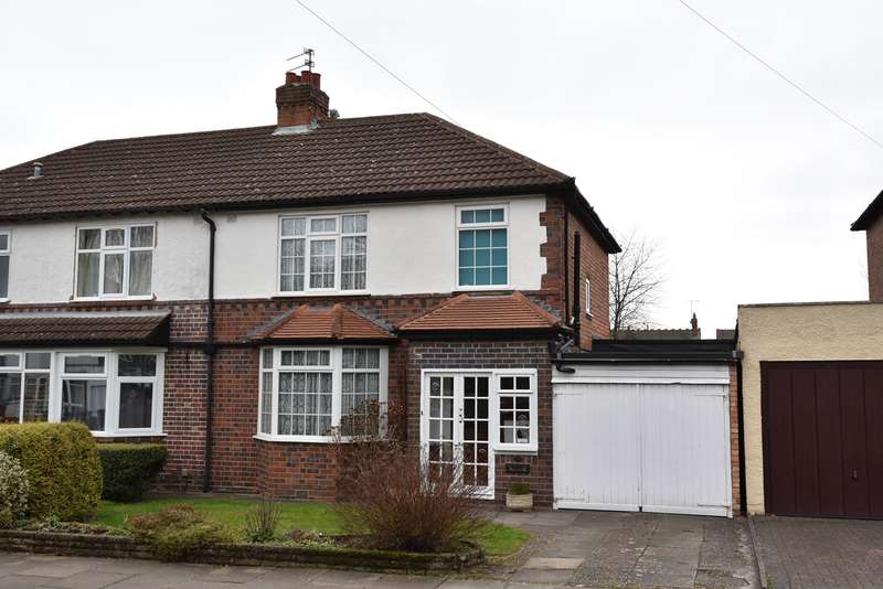 3 Bedrooms Semi Detached House for sale in Langleys Road, Selly Oak, Birmingham, B29