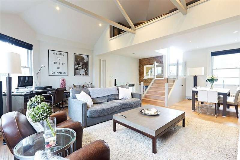 2 Bedrooms Maisonette Flat for sale in Battersea High Street, London, SW11