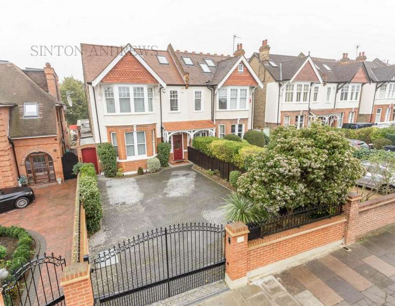 4 Bedrooms House for sale in Woodfield Road, Ealing, W5