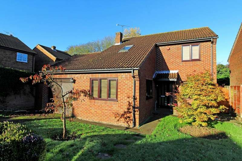 4 Bedrooms Detached House for sale in Blackmore, Letchworth Garden City, SG6