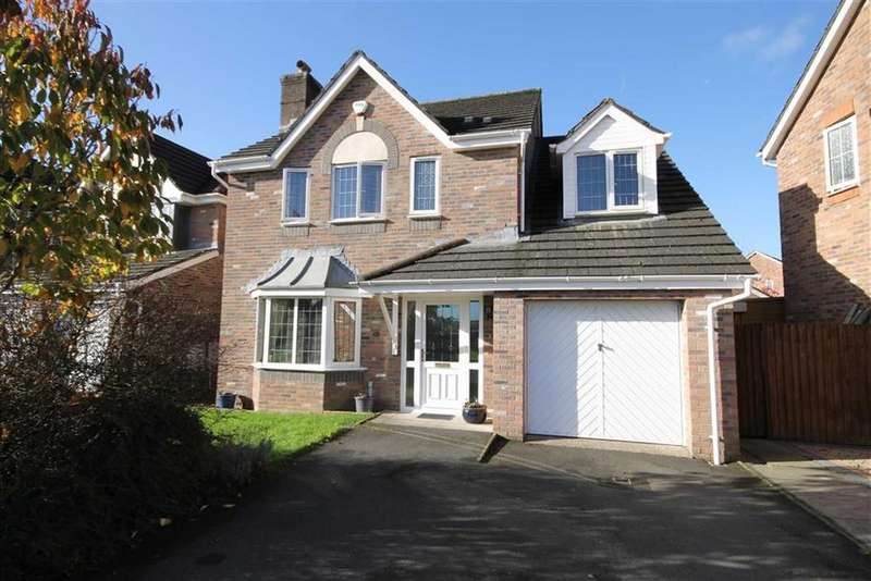 4 Bedrooms Detached House for sale in Lon Yr Ysgol, Bedwas