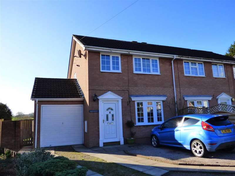 3 Bedrooms Semi Detached House for sale in Orchard Farm Close, Sedbury, Chepstow