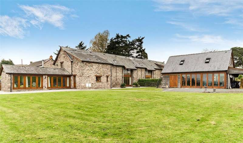 5 Bedrooms Barn Conversion Character Property for sale in Garthbrengy, Brecon, Powys