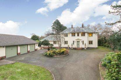 4 Bedrooms Detached House for sale in Upper Aston Hall Lane, Hawarden, Deeside, Flintshire, CH5