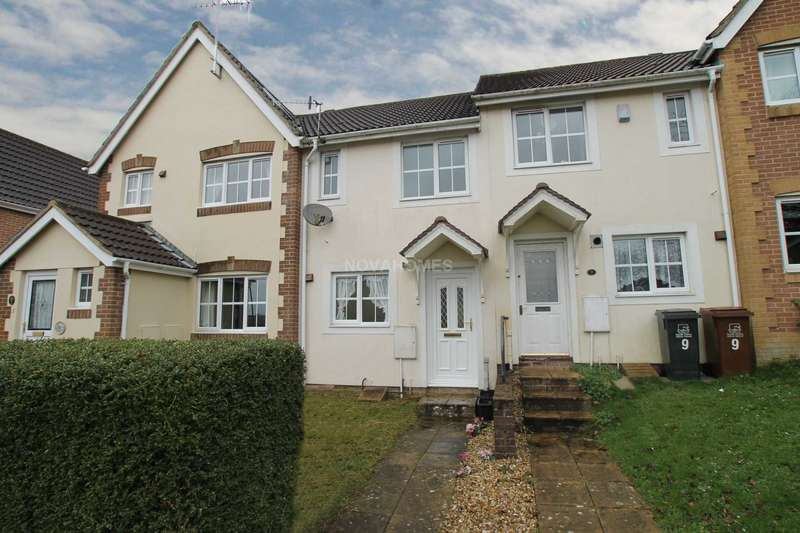 2 Bedrooms Terraced House for sale in Montgomery Close, Ivybridge, PL21 0FG