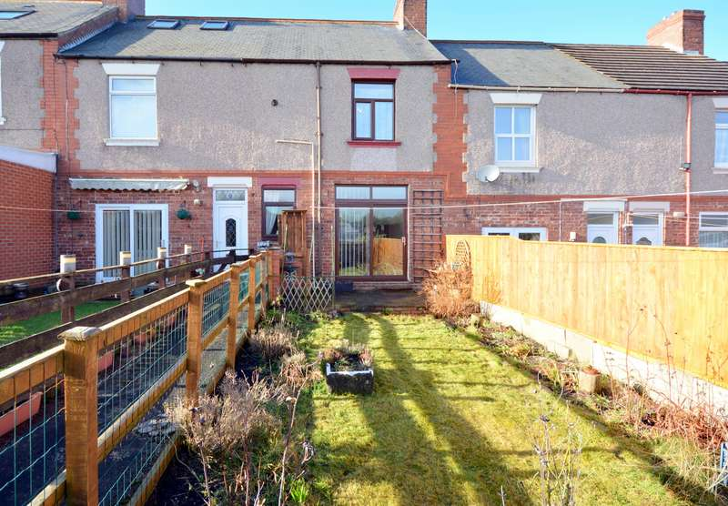 2 Bedrooms Terraced House for sale in Eldon Bank, Eldon, Bishop Auckland, DL14 8DX