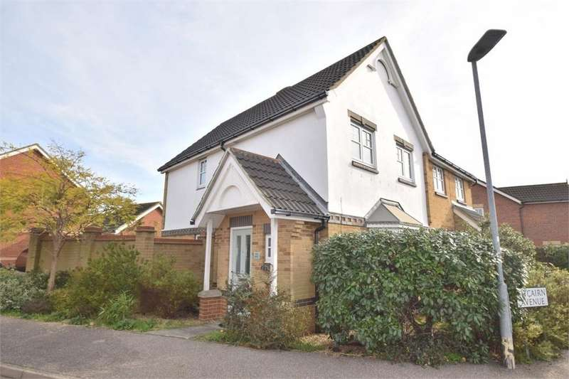 3 Bedrooms Semi Detached House for sale in Pitcairn Avenue, North Harbour, East Sussex