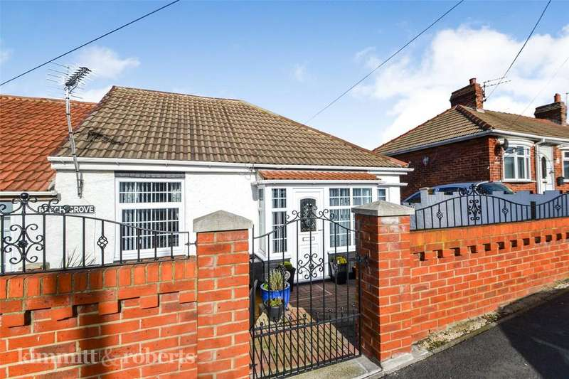 2 Bedrooms Semi Detached Bungalow for sale in Beech Grove, Horden, Peterlee, Co.Durham, SR8