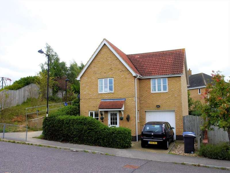 3 Bedrooms Detached House for sale in 18 Durrant Road, Hadleigh, Suffolk, IP7 6GD
