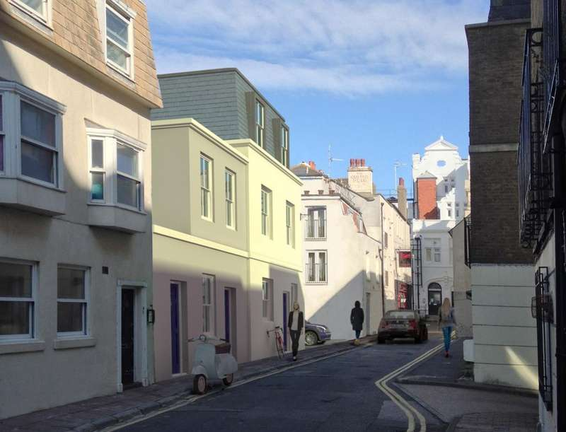 2 Bedrooms Terraced House for sale in Steine Street, Brighton, BN2