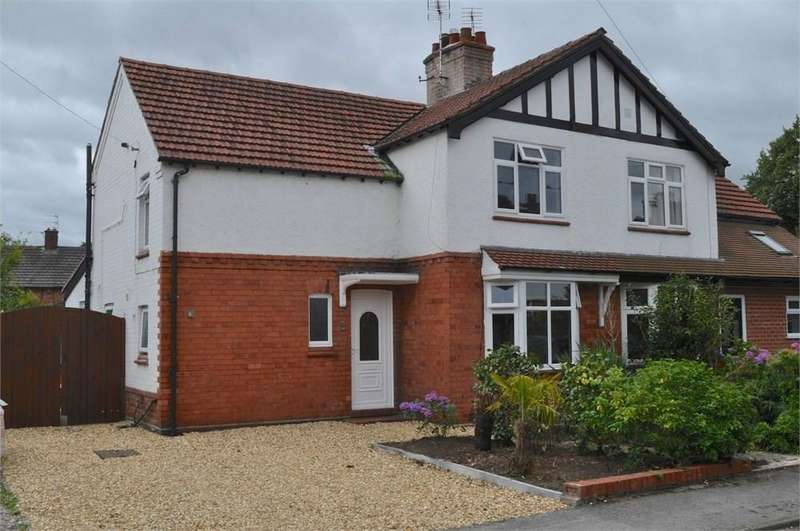 3 Bedrooms Semi Detached House for sale in Woodlands Road, Hartford, Northwich, CW8
