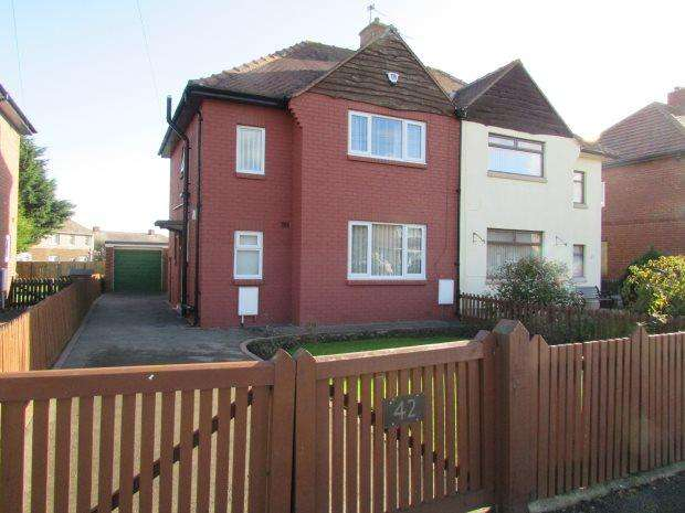 2 Bedrooms Semi Detached House for sale in WINTERBOTTOM AVENUE, HARTLEPOOL, HARTLEPOOL