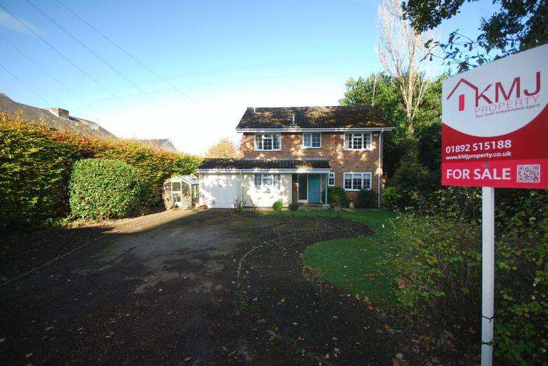 5 Bedrooms Detached House for sale in Rusthall, Tunbridge Wells