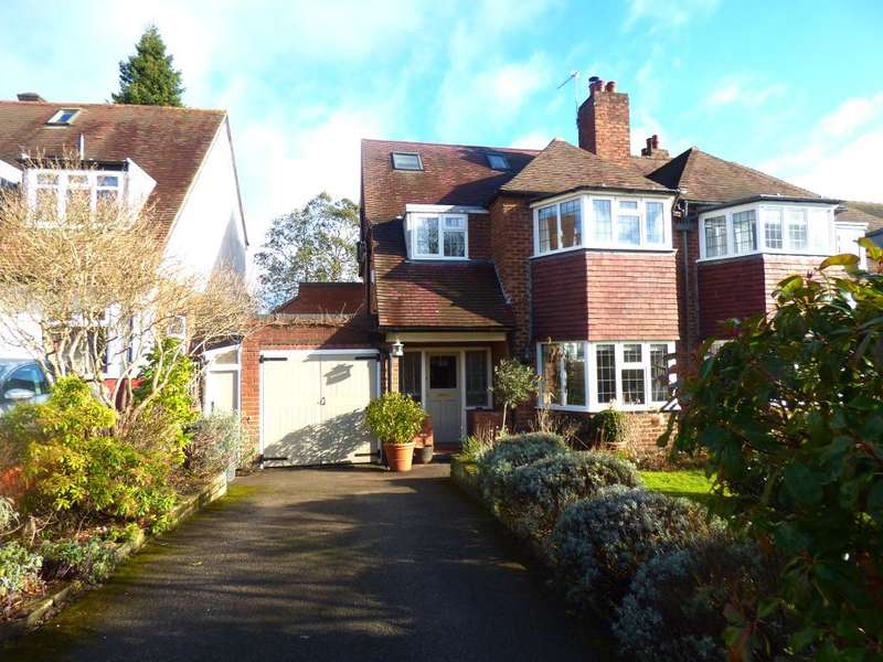 4 Bedrooms Semi Detached House for sale in Ravenhurst Road, Harborne, Birmingham, B17 9HS