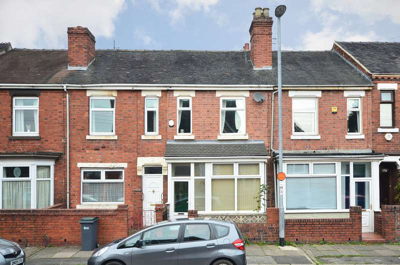 3 Bedrooms Terraced House for sale in Smithpool Road Fenton ST4