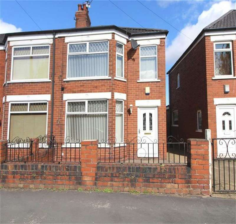 2 Bedrooms End Of Terrace House for sale in Burlington Road, Hull