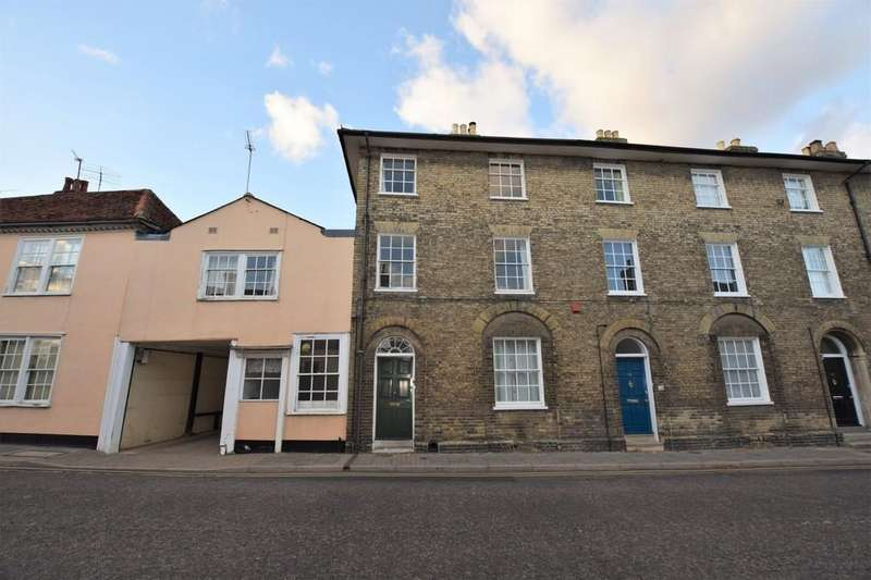 3 Bedrooms Town House for sale in Friars Street, Sudbury, CO10 2AG