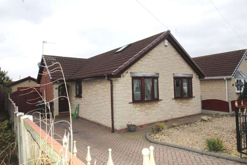 2 Bedrooms Detached Bungalow for sale in Coniston Road, Askern, Doncaster, DN6