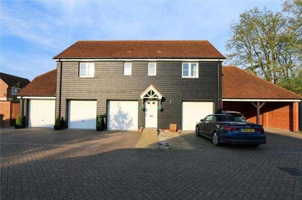 2 Bedrooms Maisonette Flat for sale in Starlings Roost, Bracknell, Berkshire