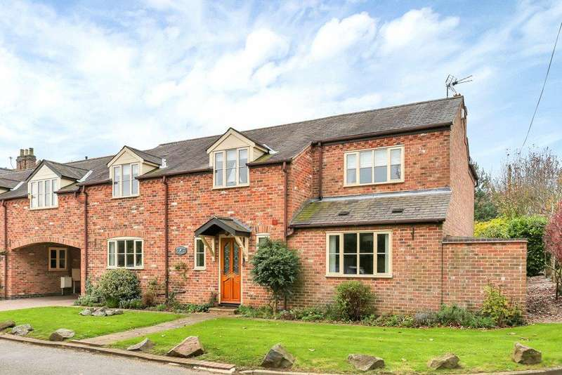 4 Bedrooms Link Detached House for sale in Peatling Parva, Lutterworth, Leicestershire