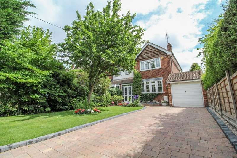 4 Bedrooms Semi Detached House for sale in Cricketers Lane, Herongate, Brentwood, Essex, CM13