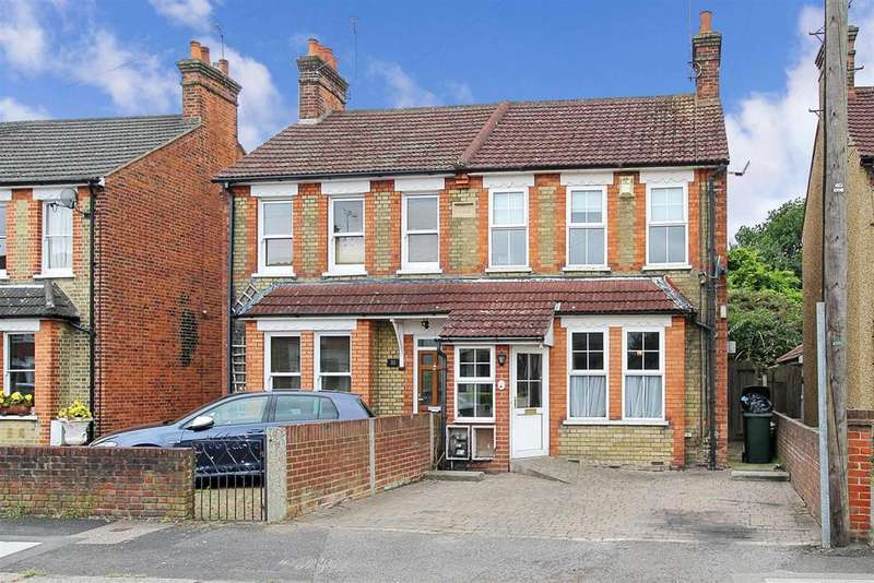 3 Bedrooms Semi Detached House for sale in Warescot Road, Brentwood