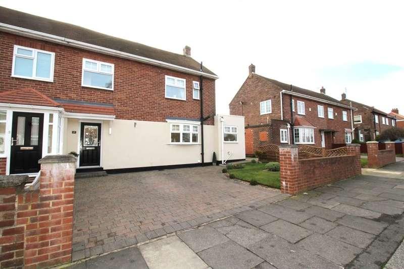 3 Bedrooms Semi Detached House for sale in Burn Heads Road, Hebburn, NE31
